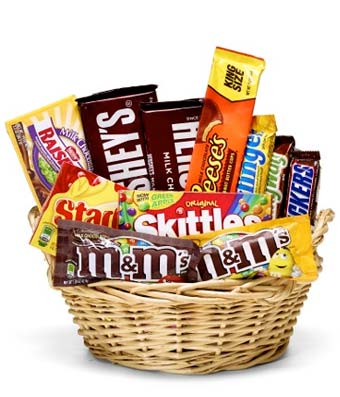 Everyones Favorite Candy Basket
